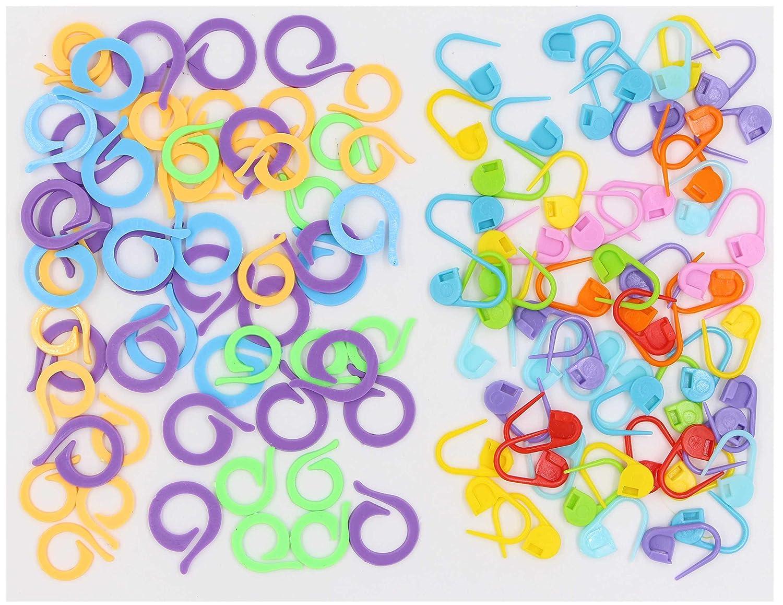 Amazoncom Crochet Stitch Markers 120pcs Locking Stitch Markers