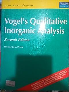 Vogels Quantitative Chemical Analysis Pdf