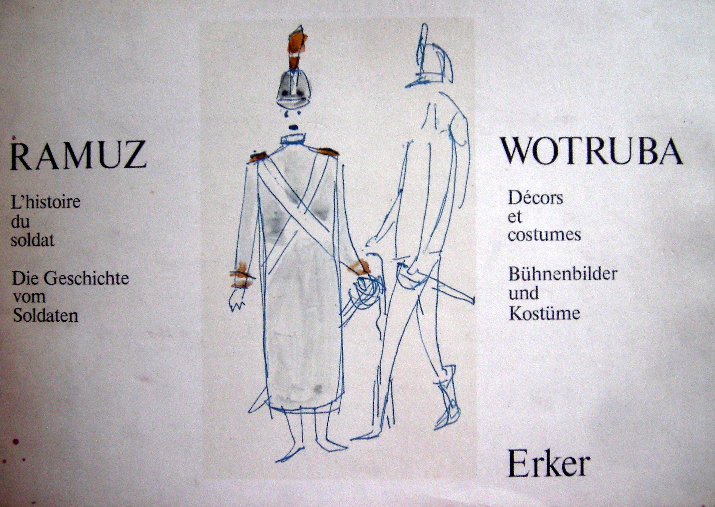 L'histoire du soldat/Die Geschichte vom Soldaten: Décors et costumes/Bühnenbilder und Kostüme