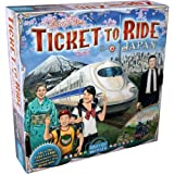 Ticket to Ride Japan Board Game EXPANSION   Family Board Game   Board Game for Adults and Family   Train Game   Ages 8+   For