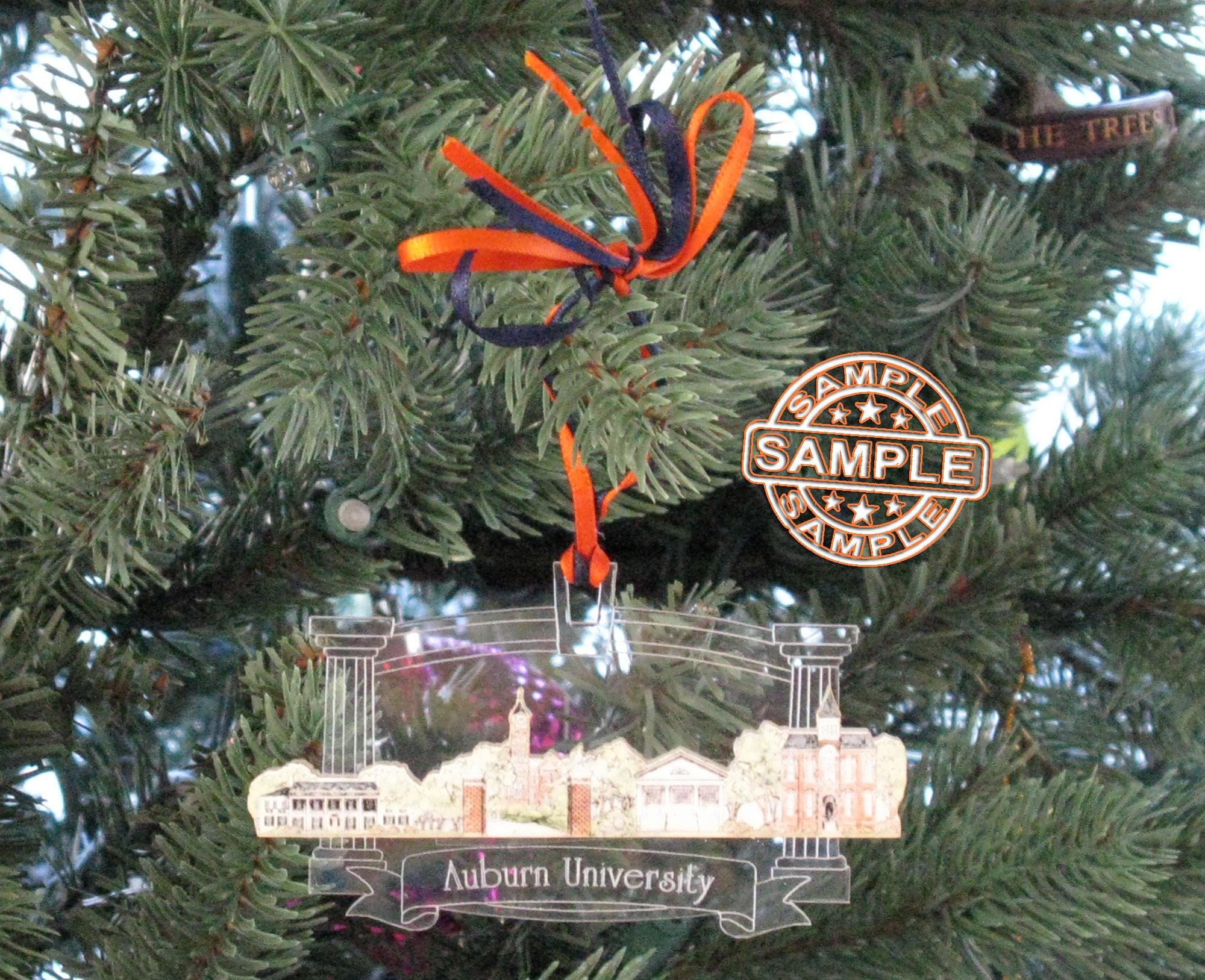 Randolf - Macon College - Collegiate Sculptured Ornament