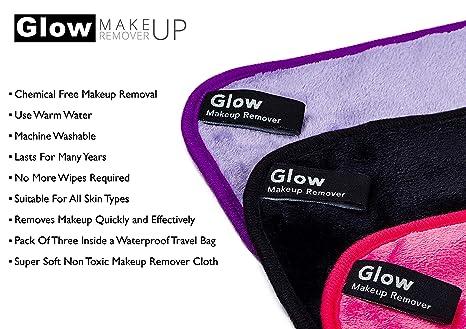 Amazon.com: Lujoso paño de limpieza de maquillaje ...