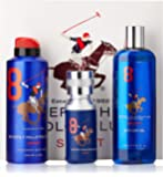 Beverly Hills Polo Club Gift Set 8 for Men (Eau De Toilette, Body Wash and Deodorant)