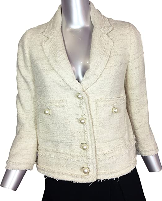 Zara - Chaqueta - para mujer beige beige Medium: Amazon.es ...