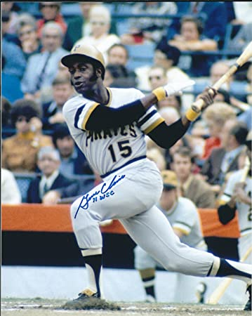 Autographed Gene Clines 8x10 Pittsburgh Pirates Photo