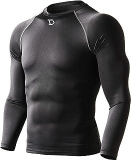 22591707dcb Defender Men s Quick Dry Compression Baselayer Underlayer Top Long Sleeve T- Shirt