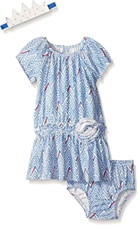 Girls' Clothing (newborn-5t) Strong-Willed Baby Girls Patwork Dress From Next Age 3-6m
