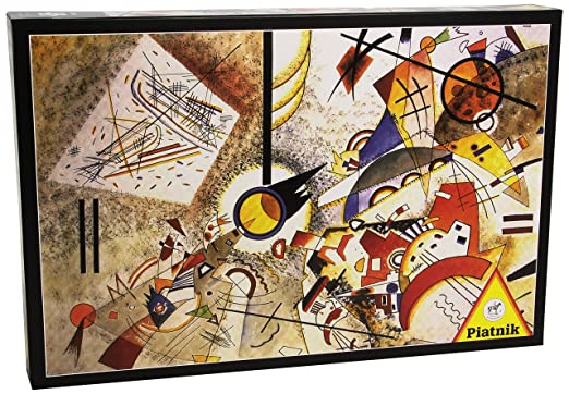 3 opinioni per Piatnik 5396- Kandinsky, Bustling Aquarelle- Puzzle da 1000 pz.