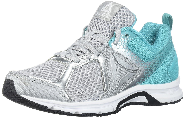 Reebok Women's Runner 2.0 MT Track Shoe B073WT1MSV 8 B(M) US|Skull Grey/Solid Teal/White/Black/Silver Metallic