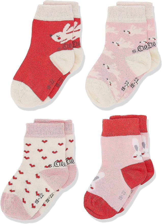 s.Oliver Socks S20580000 Calcetines, Rosa (Paradise Pink 3311), 15-18 (Pack de 8) para Bebés: Amazon.es: Ropa y accesorios