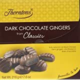 Thorntons Classics Dark Chocolate Gingers 216 g