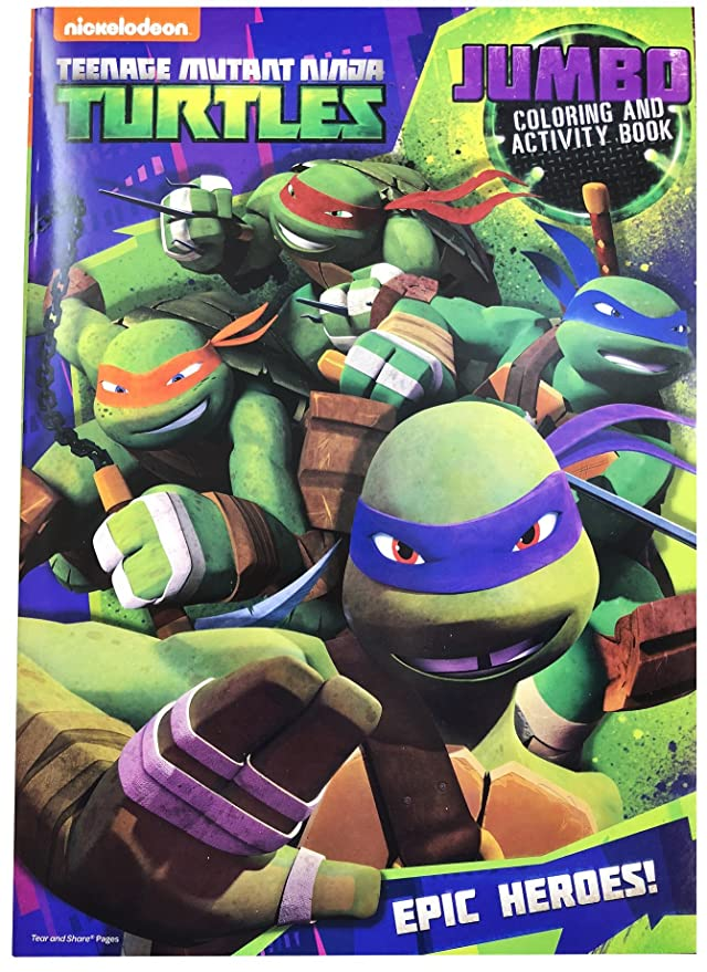 Amazon.com: Teenage Mutant Ninja Turtles para colorear y ...