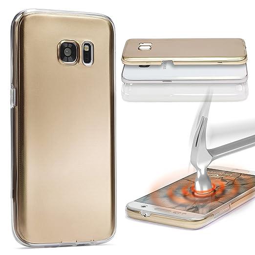 8 opinioni per URCOVER Custodia 360 Gradi Metal Look | Samsung Galaxy S6 Edge Plus | Cover