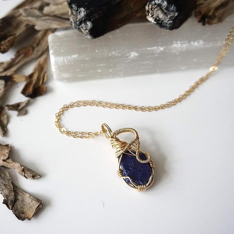 Blue aventurine necklace September birthstone necklace for mom Starstone necklace Virgo necklace Astrology necklace Libra zodiac necklace