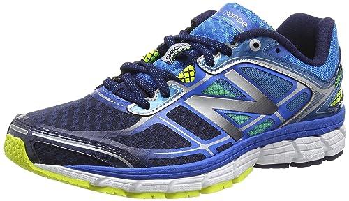 New Balance 860v5, Zapatillas de Running para Hombre, Electric Blue with Dark Sapphire, 40.5 EU: Amazon.es: Zapatos y complementos