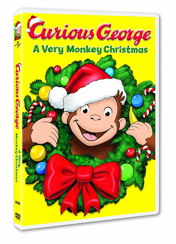 Amazon.com: Curious George: A Very Monkey Christmas: Frank Welker ...