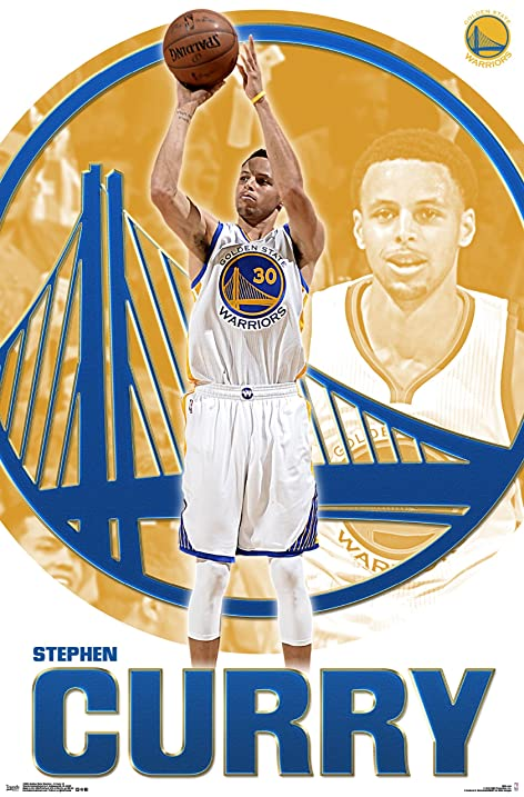Trends International NBA Golden State Warriors Stephen Curry Wall Poster 22375quot