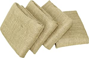 COTTON CRAFT - Burlap Potato Sack Race Bag 24x 39 Inch - Made from Sturdy Rugged Natural Eco-Friendly Jute Burlap