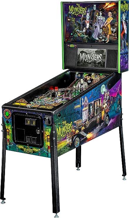 Stern Pinball Munsters Arcade Pinball Machine, Pro Edition