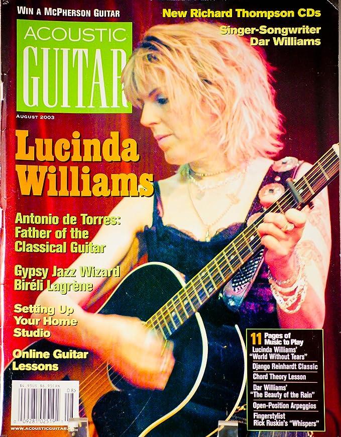 Amazon 2003 August Acoustic Guitar Magazine Lucinda