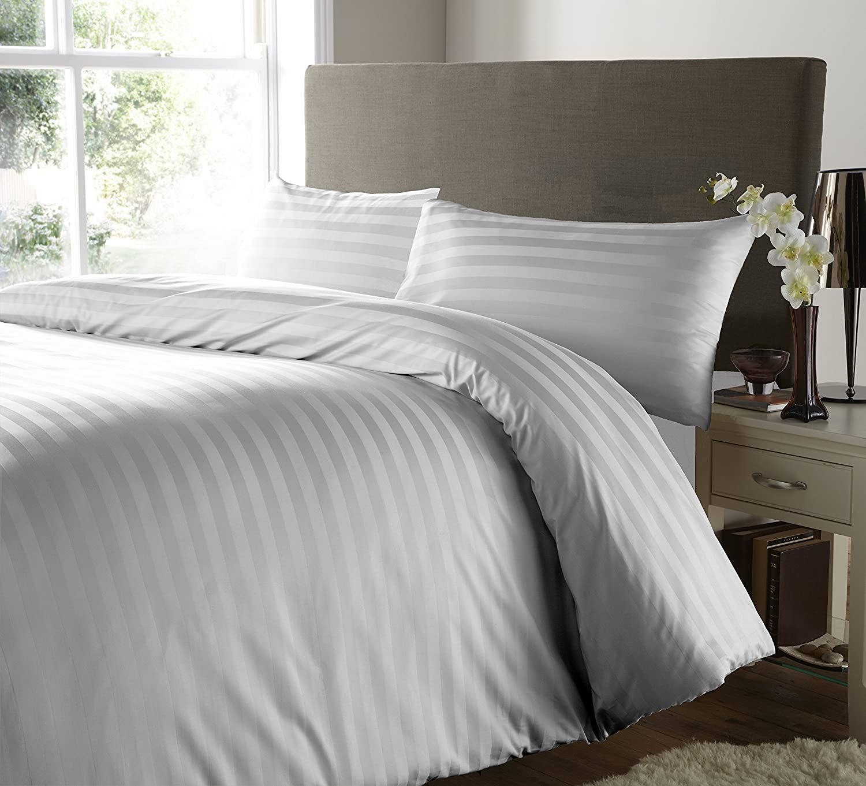 Double Stripes 100/% Egyptian Cotton Printed Duvet Cover Sets //Quilt Cover Sets