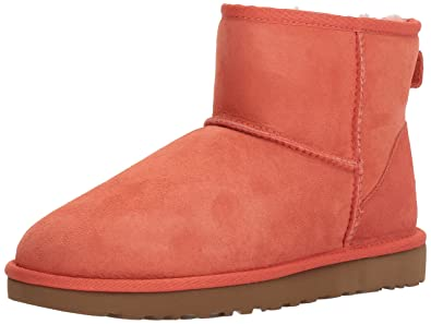 Amazoncom Ugg Womens Classic Mini Ii Winter Boot Ankle Bootie