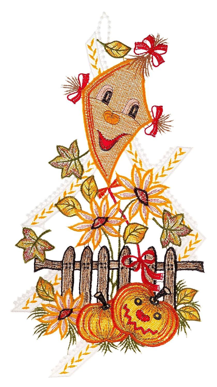 Herbstliches Fensterbild