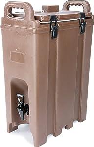 Carlisle Paddles LD500N01 Cateraide Insulated Beverage Server/Dispenser, 5 Gallon, Brown