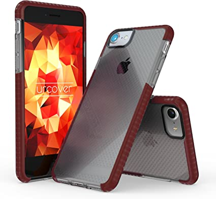 IPhone 7 Coque Protection Plastique Rouge Ultra Fin