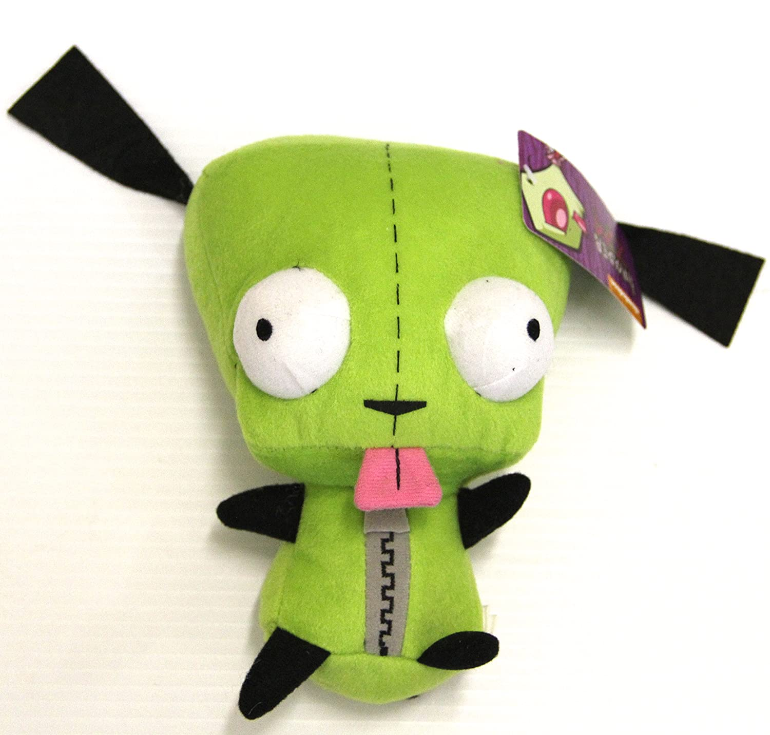 "Nickelodeon Alien Invader Zim - Plush 8"" GIR Doll"