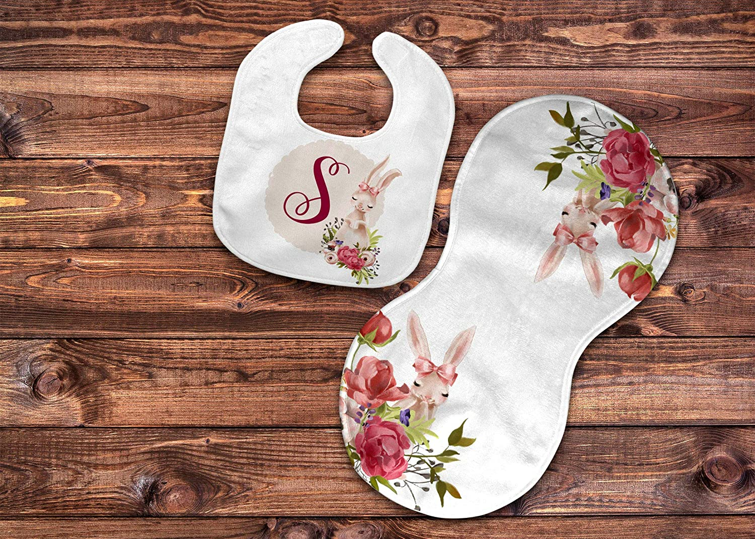 Black /& White Bib andor Burp Cloth gifts for mom burp baby gift bib gifts for grandmother children baby gifts for baby mom to be