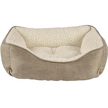 Amazon.com: Armonía Caqui Nester cama para perro, XS: Mascotas