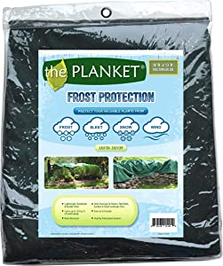 the Planket Frost Protection 10 x 12 ft Rectangular Plant Cover, Green