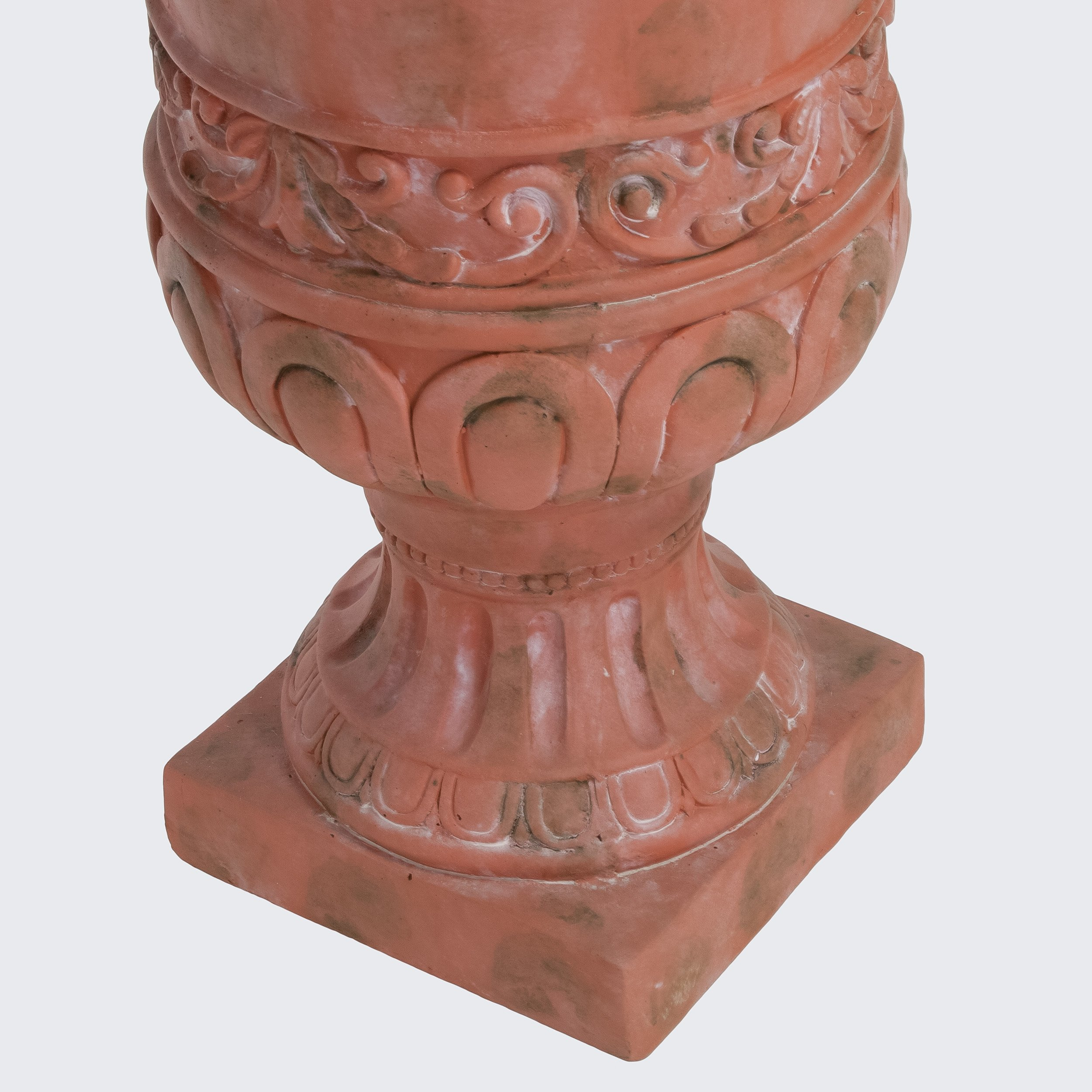 Great Deal Furniture Roma Antique 26-inch Urn Planter
