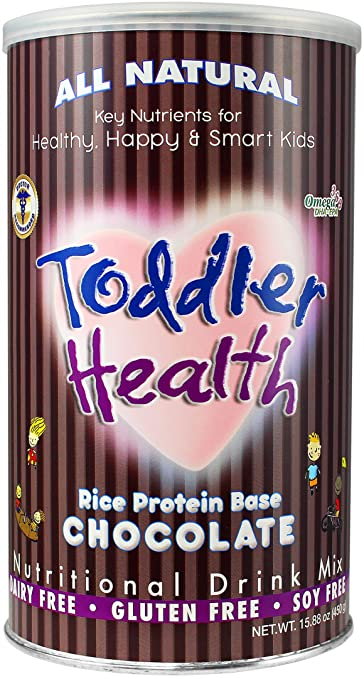 Toddler Health - Nutritional Drink Mix, Dairy, Gluten & Soy Free, Rice Chocolate