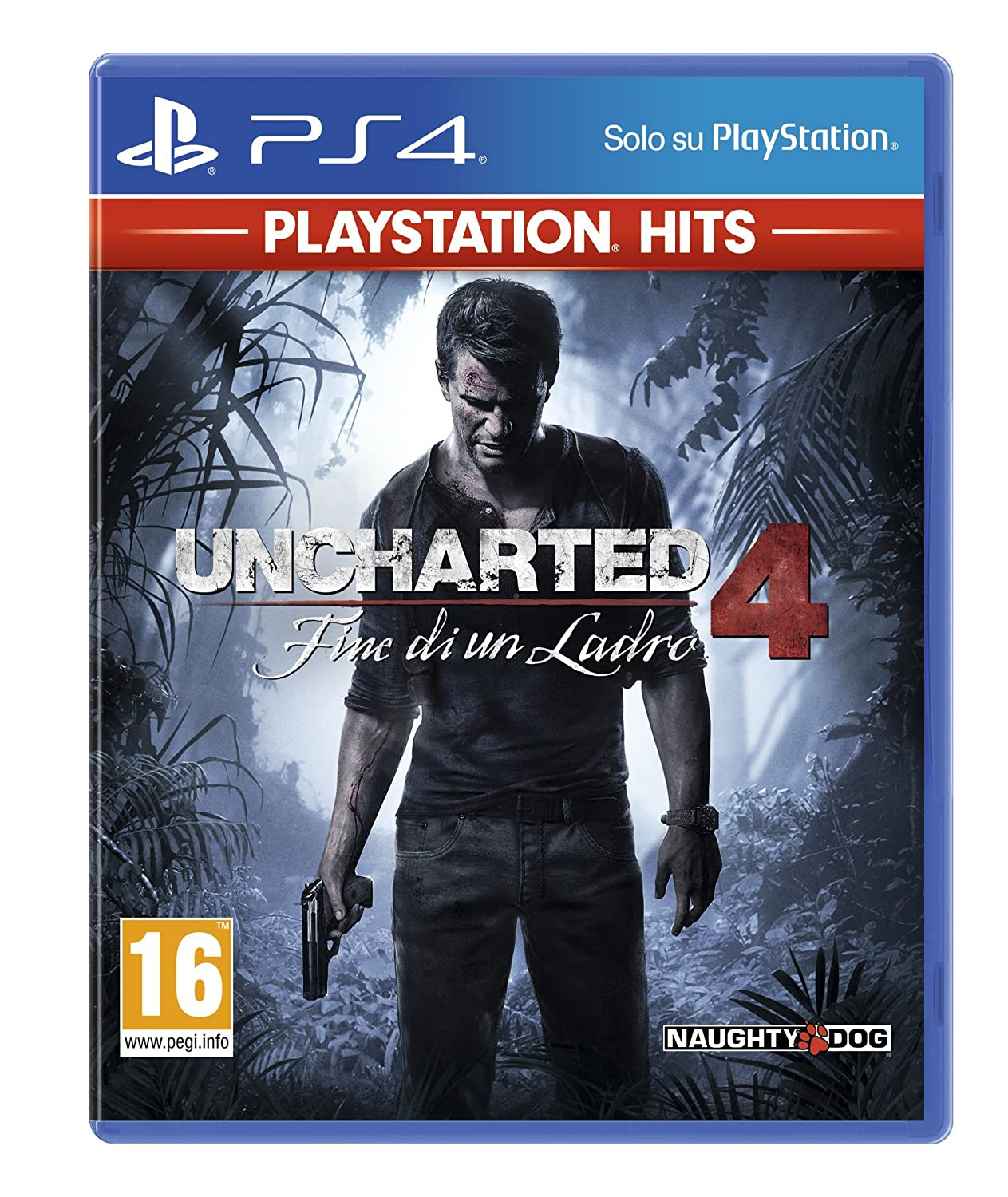 Uncharted 4: Fine Di Un Ladro (Ps Hits)   Classics   Play Station 4 by Sony