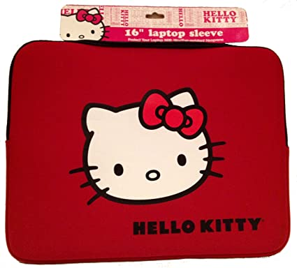 """544f1e10f Image Unavailable. Image not available for. Color: Hello Kitty 20709N  16"""" Laptop Sleeve ..."""