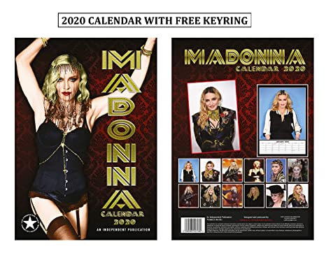 Calendario Madonna 2020.Madonna Calendario 2020 Calendar With Madonna Portachiavi