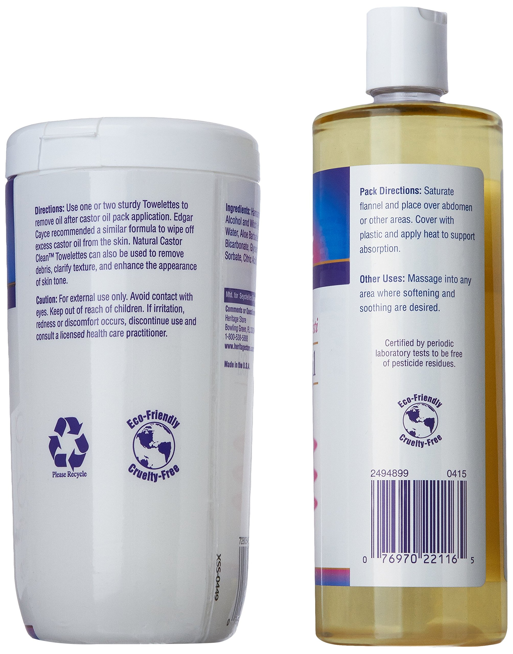 Heritage Store Castor Oil Pack Kit by Heritage Store (Image #8)