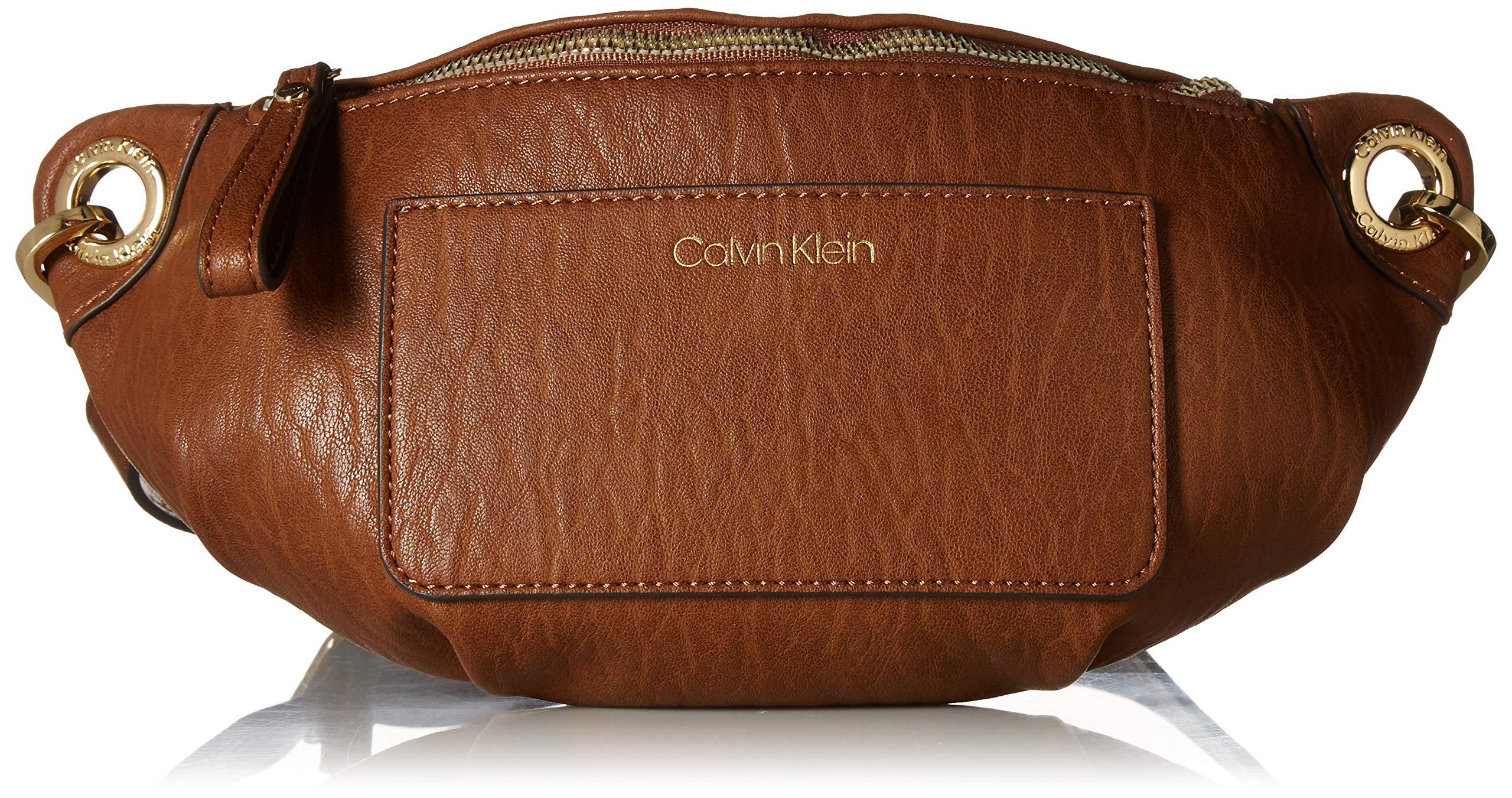 Calvin Klein Sonoma Bubble Lamb Novelty Key Item Fanny Pack Belt Bag, Luggage