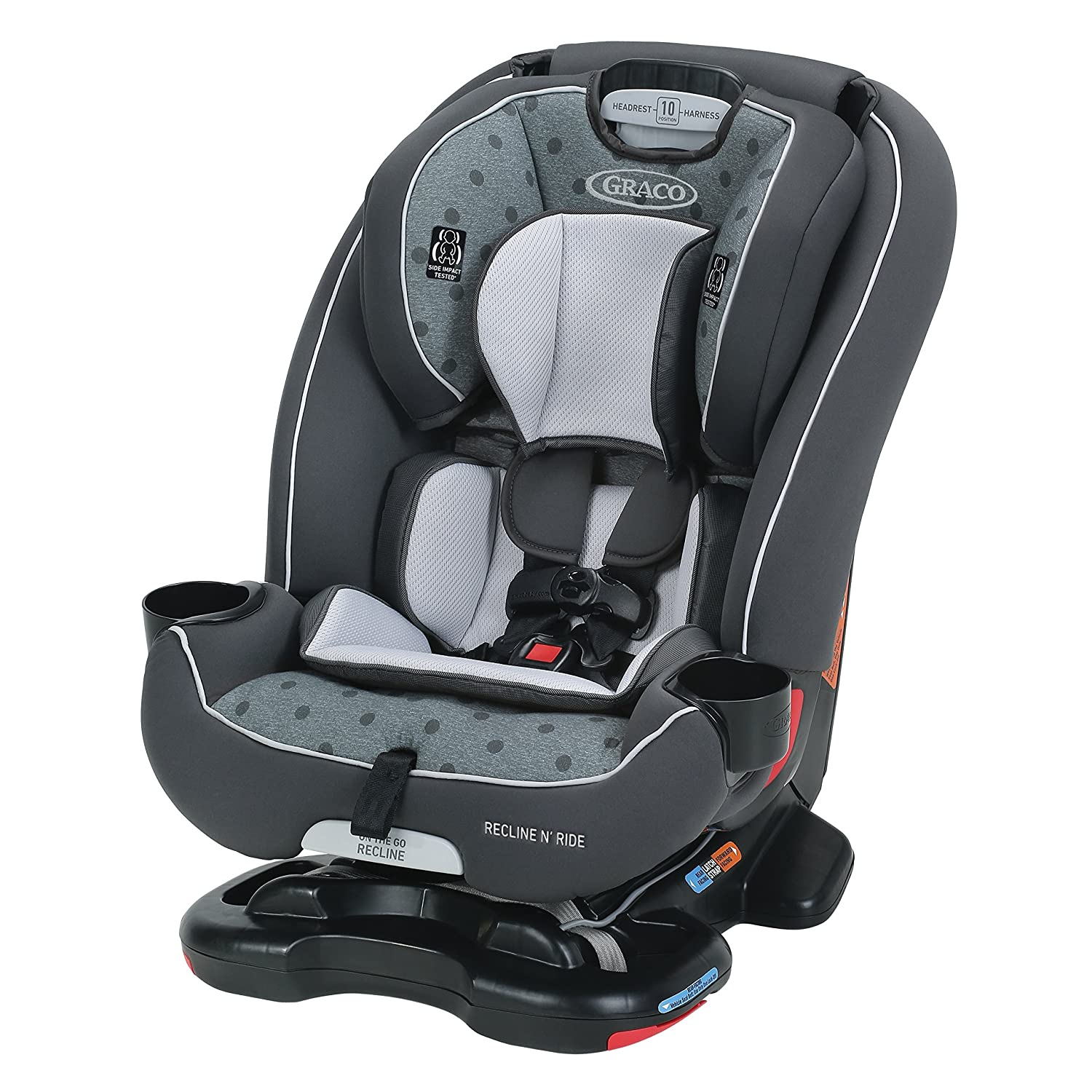 Graco Recline N' Ride 3-in-1 Car Seat Featuring On The Go Recline, Murphy Graco Baby 2048730