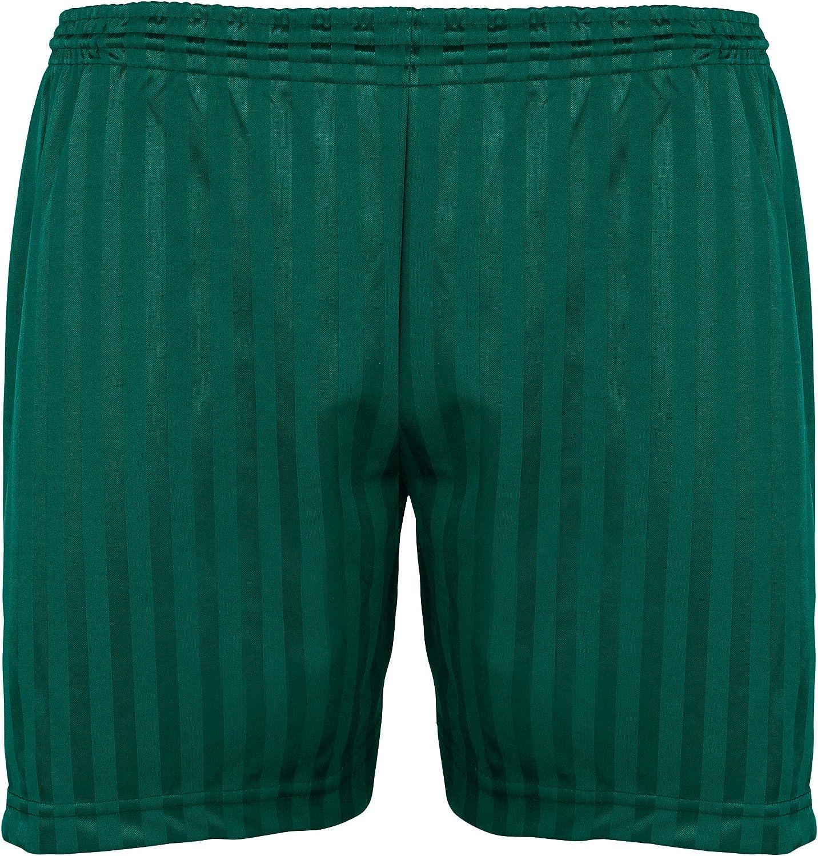 Maddins Kids Unisex Shadow Stripe Sports Shorts