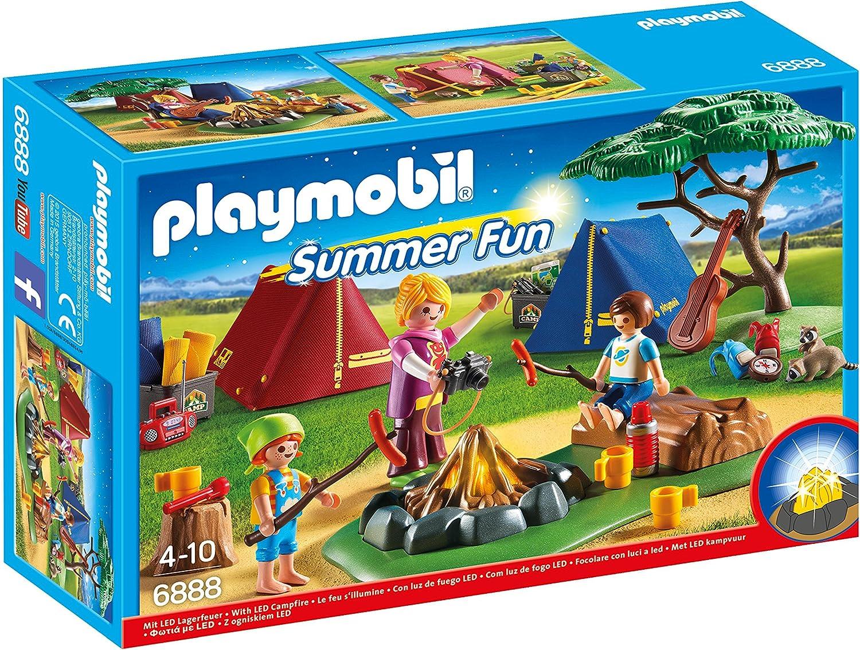 Playmobil Campamento de Verano-6888 Playset, Multicolor, Miscelanea (6888)