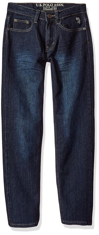 Washed Indigo Polo Assn U.S 16 Big Boys Denim Jean