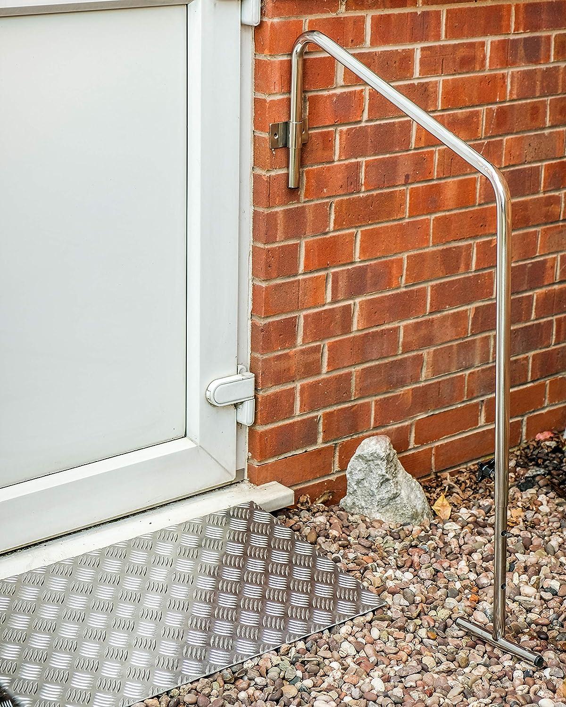 Door Ramp 6 inch with fixing plates Door Ramp British Made