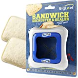 Sandwich Cutter, Sealer and Decruster for Kids - Remove Bread Crust, Make DIY Pocket Sandwiches - Non Toxic, BPA Free…