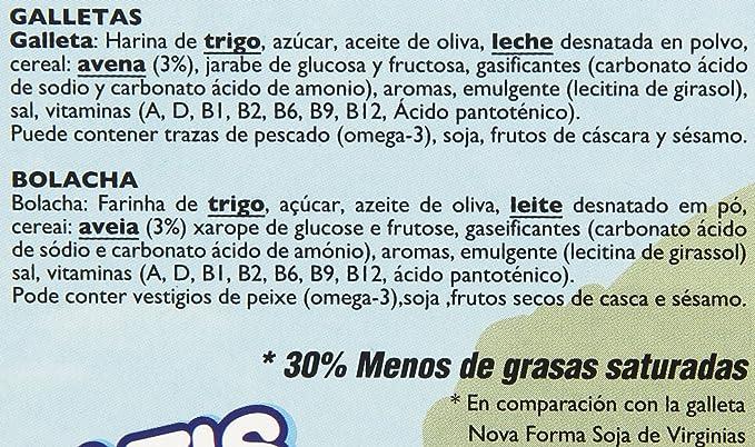 Virginias - Galletas con cereales y 8 vitaminas - Gratis 1 cubierto en cada estuche - 110 g: Amazon.es: Alimentación y bebidas