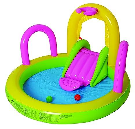 Jilong 97207 Piscina Multigioco Spray Sliding Pool: Amazon.it: Giardino e giardinaggio