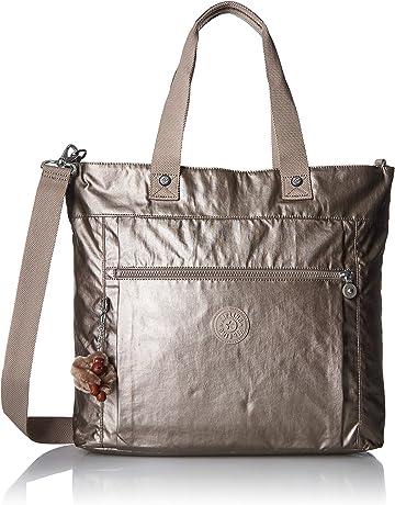 cf25aff76ae Kipling Lizzie Laptop Tote Bag, Removable, Adjustable Crossbody Strap, Zip  Closure
