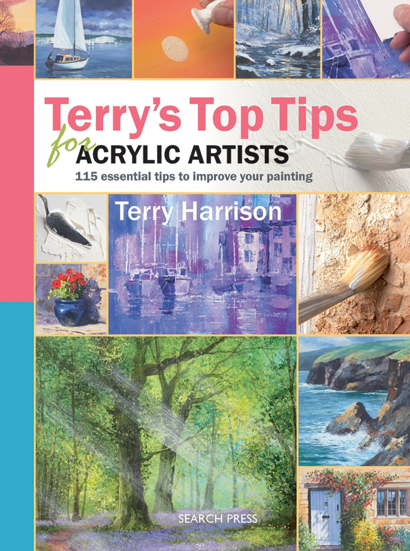 Terry's Top Tips for Acrylic Artists